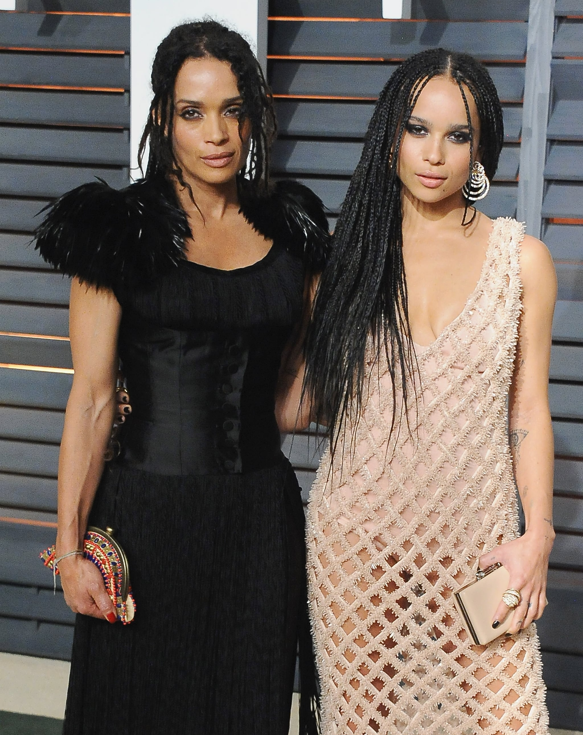 Celebrity Entertainment 11 Times Zoe Kravitz And Lisa