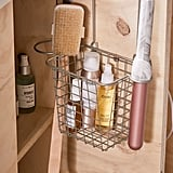 Over-the-Cabinet Hair Tool Organizer Basket