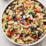 California Pasta Salad With Italian Dressing