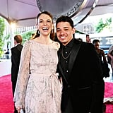 Sutton Foster and Anthony Ramos