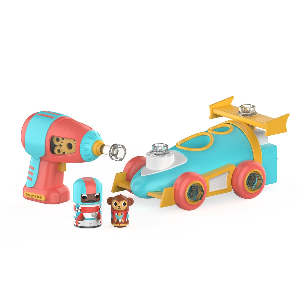 Educational Insights Design and Drill Bolt Buddies Race Car