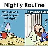 Bedtime Routine Struggles Comics