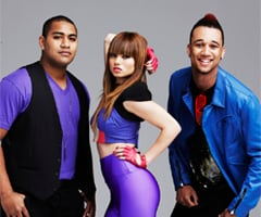 Interview With The X Factor Group Three Wishez: Sophia, Joseph and Fred-Day