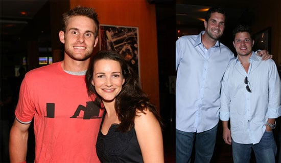 Nick Does Some Scandal-Free Bowling With Celebs