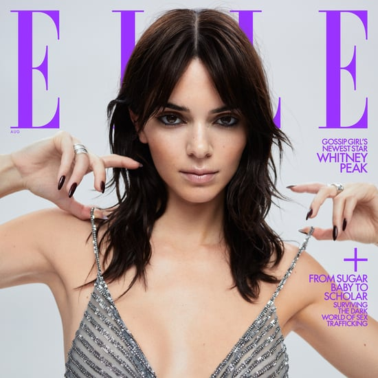Kendall Jenner Debuts a Shag Haircut on Elle's August Cover