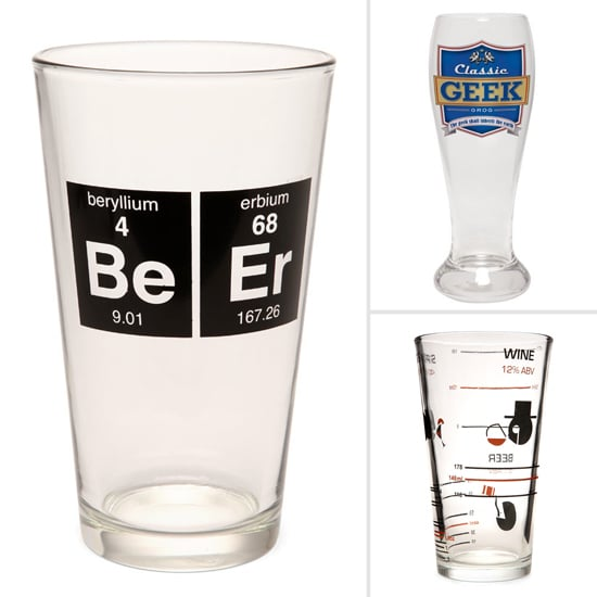 Geeky Beer Glasses For St. Patrick's Day