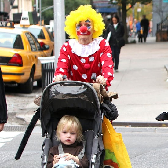 Naomi Watts in a Clown Costume Pictures