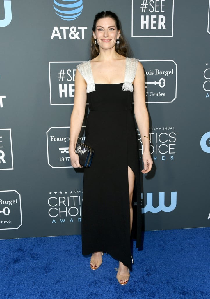 Sarah Levy at the 2019 Critics' Choice Awards   Schitt's