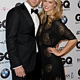 Bar Refaeli brought her brother to the GQ Men of the Year Awards in Germany.