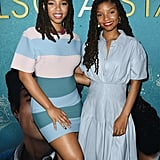 Chloe x Halle at the Premiere of The Sun Is Also a Star