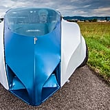 The flying car is accustomed to road traffic, but it can also take off and land at any airport as well.