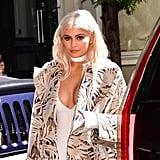Kylie Jenner With Platinum blond Hair