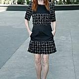 Julianne Moore looked like the classic Chanel girl
