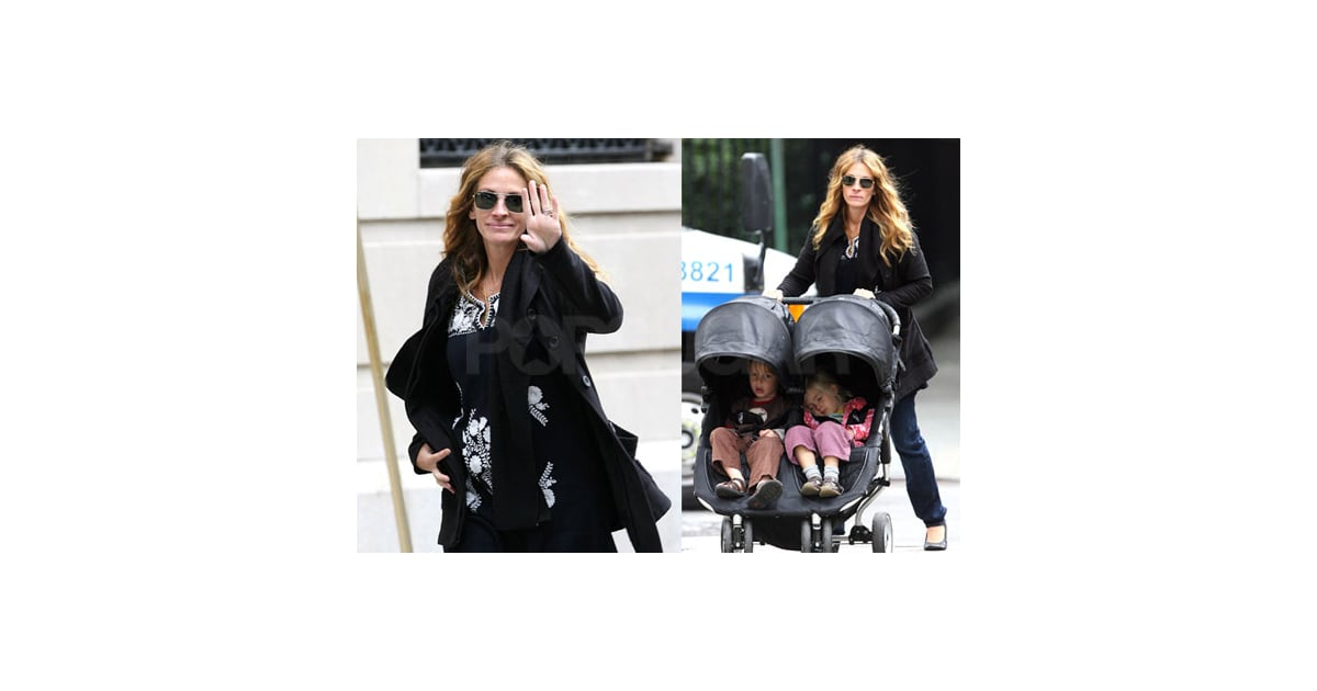 Photos of Julia Roberts With Phinnaeus and Hazel in NYC | POPSUGAR ...