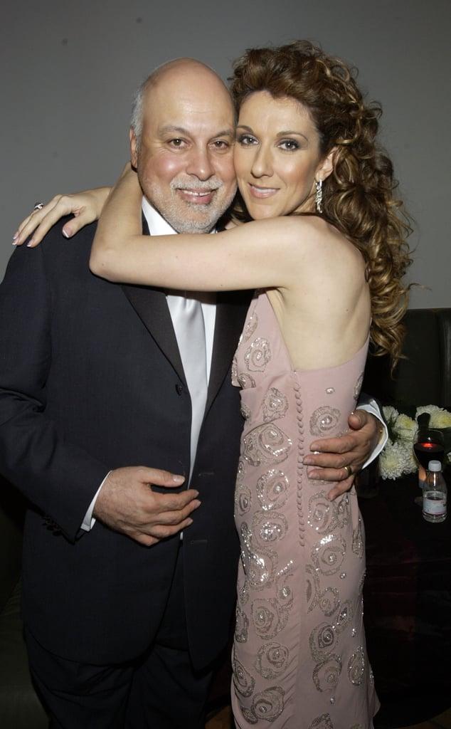 "People could write songs about Céline Dion and René Angélil's beautiful love story. The pair first met in 1980 (she was 12 and he was 38) when her brother, Michel, sent the Canadian music producer one of her songs. Over the course of seven years, René served as her mentor and manager before their relationship turned romantic when Céline turned 19. They dated for four years before getting engaged. In December 1994, the pair made things official when they tied the knot during a beautiful ceremony at Notre-Dame Basilica in Montreal, Quebec. ""I'm not surprised that we married each other, because we have the same dreams,"" Céline said about her husband. ""We have the same goals. We respect each other.""  Aside from sharing a number of sweet moments together on the red carpet and during award shows, they were also parents to their three beautiful sons, René-Charles and twins Eddy and Nelson. Even though their relationship was sadly cut short when René lost his long and courageous battle with cancer in January 2016, Céline has carried on her late husband's legacy. Not only has she dedicated many gut-wrenching performances to him, but she has been painfully open about losing the love of her life. ""I'm well because [René] is not suffering anymore, because the hardest thing is not to lose somebody you love, but to see them suffer,"" she told Ellen DeGeneres after his death. ""So for me to know that he is in a place where he doesn't suffer anymore makes me feel way better."""