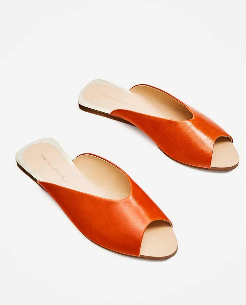 1c2913d24374 Feel free to toss your pool shoes and replace them with this chic pair of  leather