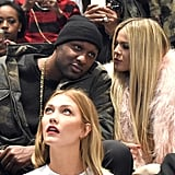 Lamar Odom Joins Khloé Kardashian at Kanye West's NYFW Show