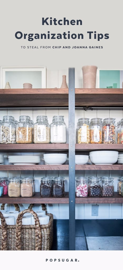 Joanna Gaines Tips For Decorating Living Rooms: Chip And Joanna Gaines Kitchen Organization Tips