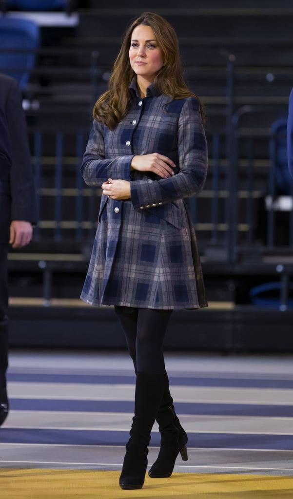 Kate Middleton in Scotland in 2013