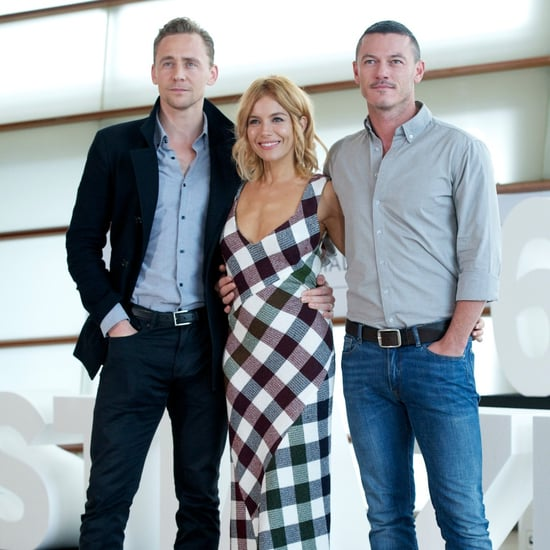 Pictures Tom Hiddleston, Sienna Miller, Luke Evans in Spain