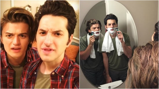 Steve From 'Stranger Things' Finally Meets Jean-Ralphio From 'Parks and Recreation' -- See the Pics!