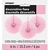 Tissue Paper Fan Decoration