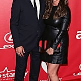 Alanis Morissette and Mario Treadway walked the red carpet at the MusiCares event.