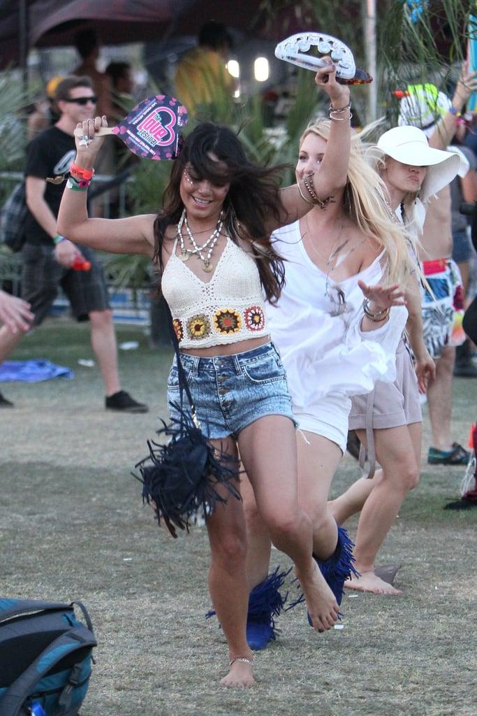 Vanessa Hudgens danced during the 2011 festival.