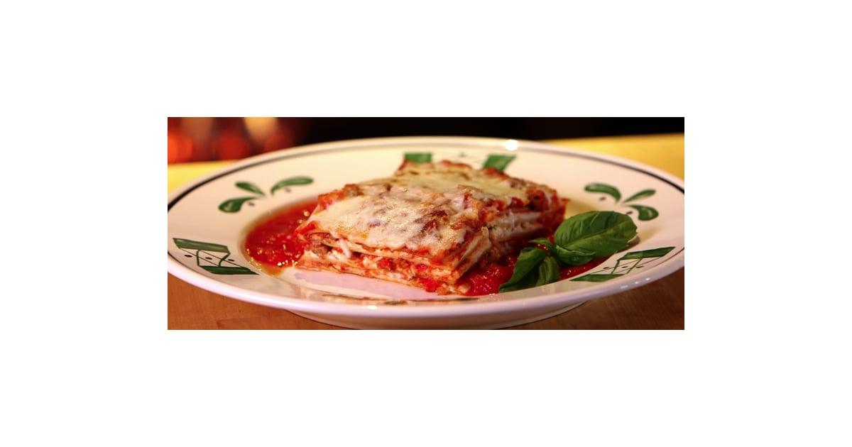 Olive Garden 39 S Lasagna Recipe Popsugar Food