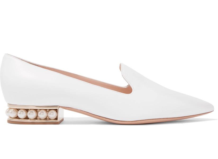 Nicholas Kirkwood Casati Embellished Leather Loafers