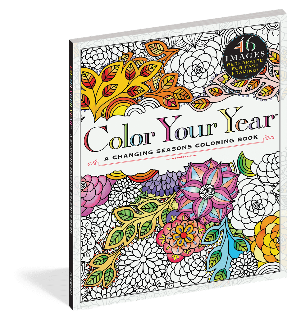 Workman Publishing Color Your Year Coloring Book | Best Kids Books ...