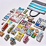 Australian Women's Weekly Showbag ($18) Includes:  Tote bag  Assorted magazines  Batiste Tropical Dry Shampoo