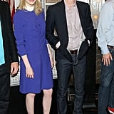 Emma Stone and Andrew Garfield Light Up the Empire State Building