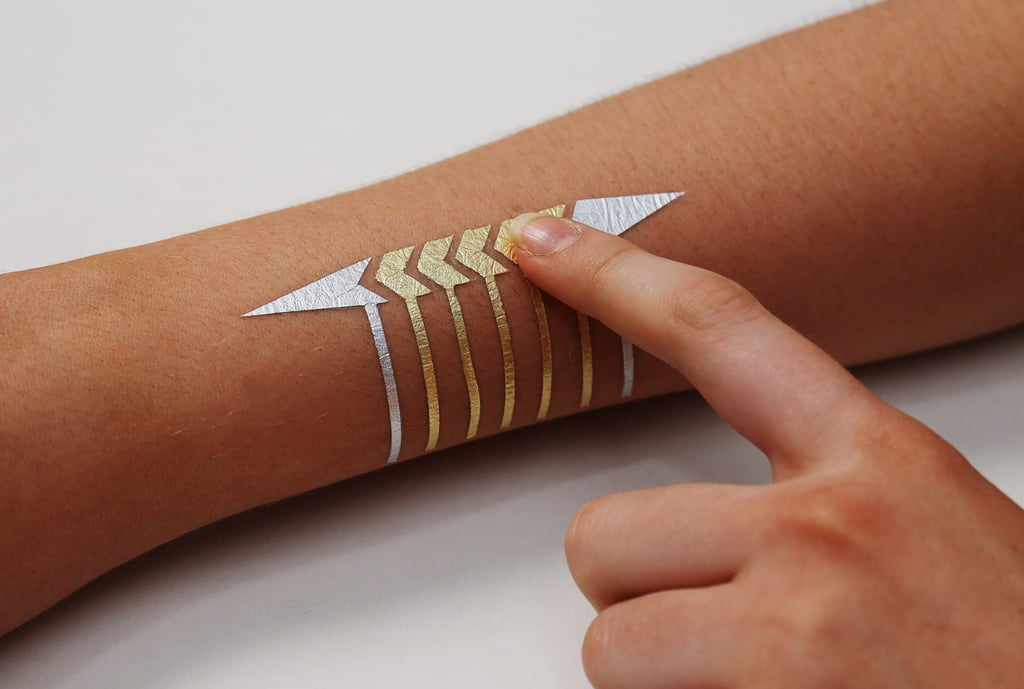 Here's an example of an input DuoSkin tattoo device.