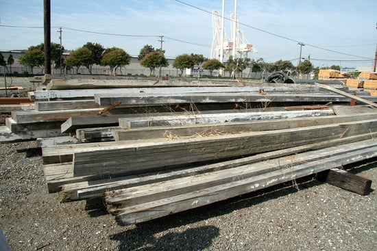 Before and After: Reclaimed Lumber Bench