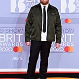 Tom Walker at the 2020 BRIT Awards in London