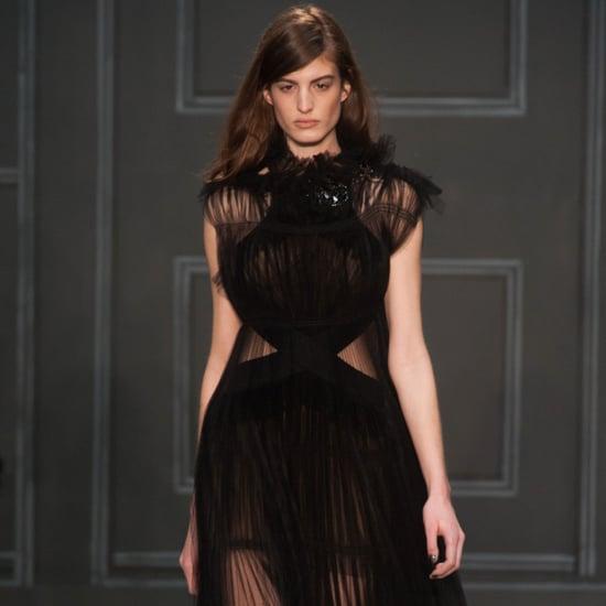 Vera Wang Fall 2014 Runway Show   NY Fashion Week