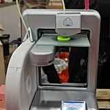 FabCafe's 3D printer working on a new project.
