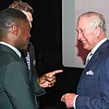 Prince Charles Meets British Actors at the BFI December 2018