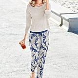 Victoria's Secret Pineapple Track Pants