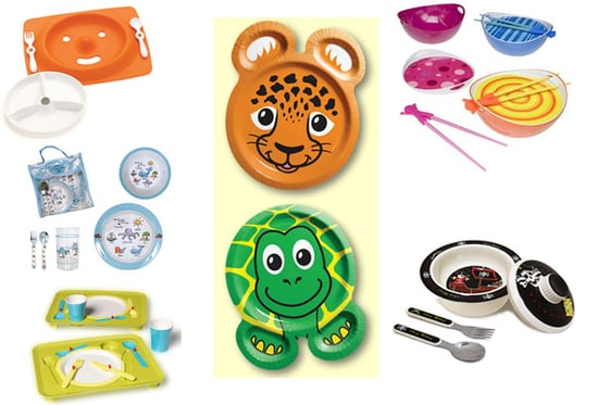 Keeping Mealtime Manageable:  Top Tableware