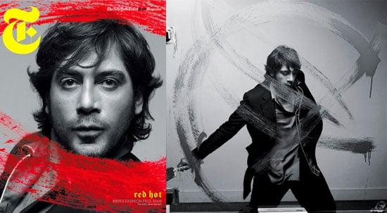 Javier Bardem For T Magazine Men's Fashion 2008