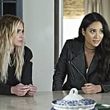 And that cutout detail on Hanna's sweater? Cute.
