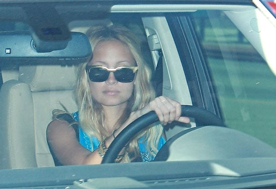 Photos of Nicole Richie at Driving School And A Video Of Her Charity Work