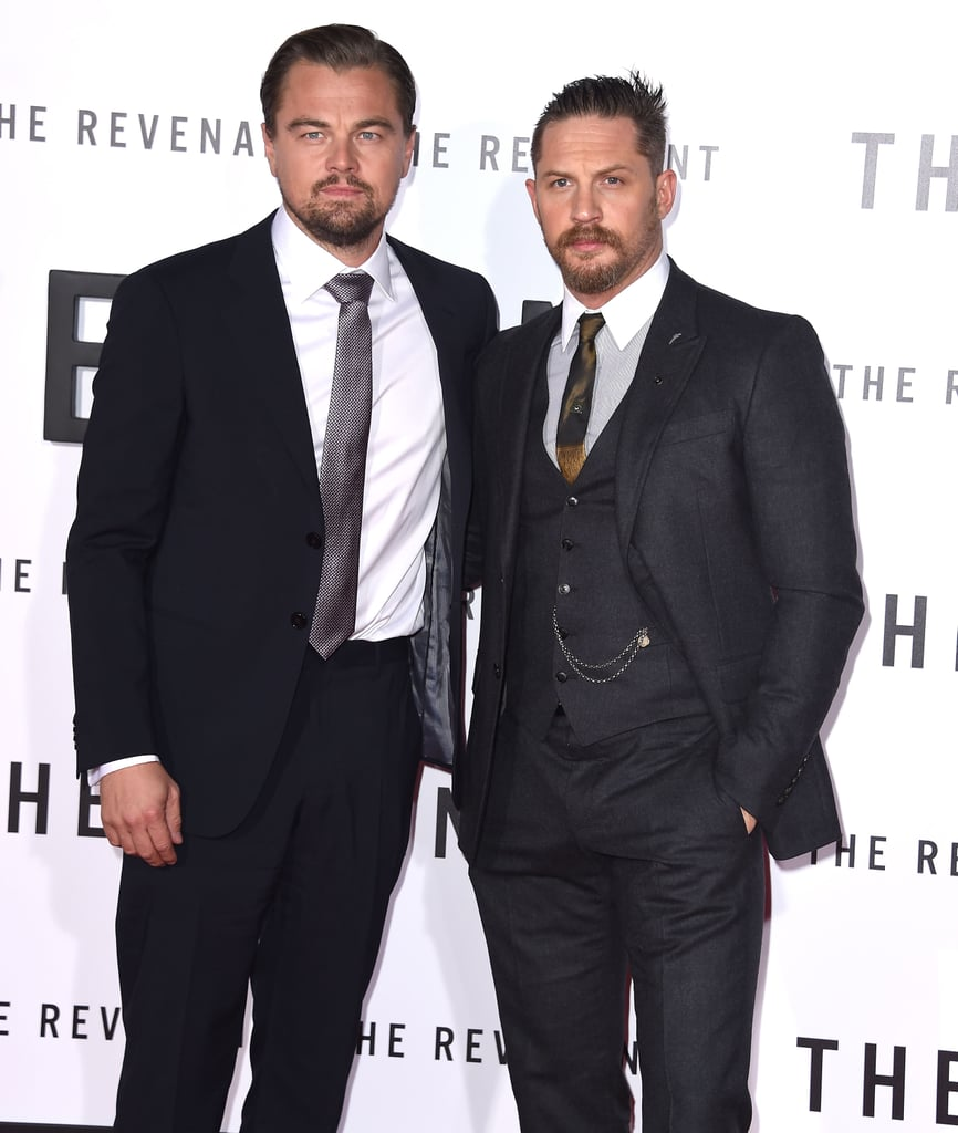 Leo and Tom collectively smoldered for the cameras at the LA premiere of The Revenant in 2015.