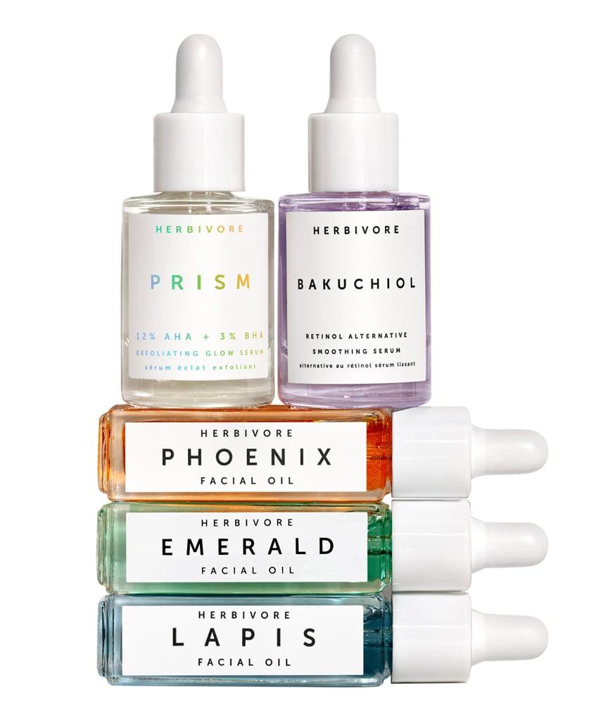 Herbivore Jewel Box Mini Facial Oil and Serum Set