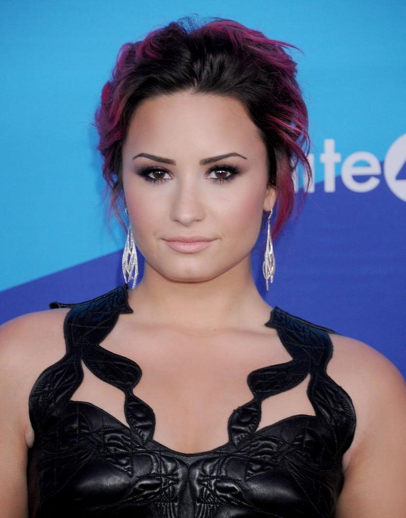 Demi Lovato at the Unite4:humanity Event
