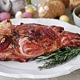 Entrée: Rosemary-Roasted Leg of Lamb