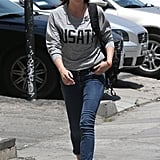 Kristen Stewart Shows Team USA Spirit