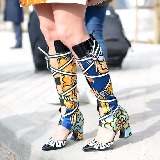 Street Style Shoes and Bags at Paris Fashion Week Fall 2015